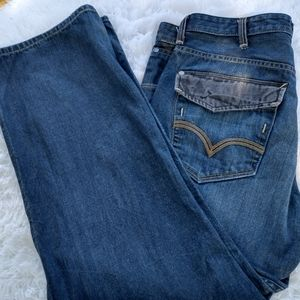 Levi's silver tab loose awesome black flaps pocket